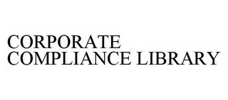 mark for CORPORATE COMPLIANCE LIBRARY, trademark #78604645