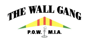 mark for THE WALL GANG P.O.W. M.I.A., trademark #78606085