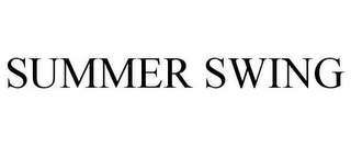 mark for SUMMER SWING, trademark #78606728
