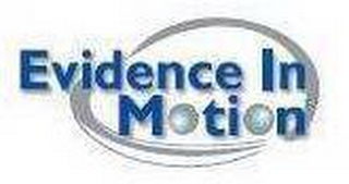 mark for EVIDENCE IN MOTION, trademark #78606905