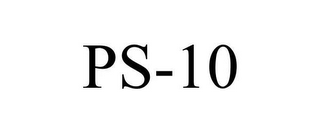 mark for PS-10, trademark #78607645