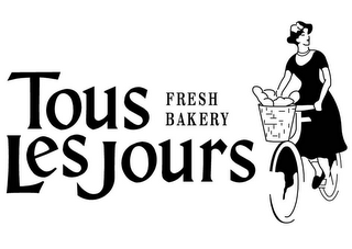mark for TOUS LES JOURS FRESH BAKERY, trademark #78608009