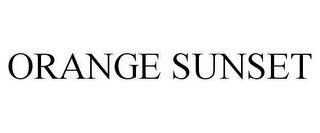 mark for ORANGE SUNSET, trademark #78608673