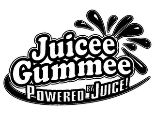 mark for JUICEE GUMMEE POWERED BY JUICE!, trademark #78609836