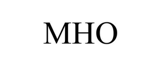 mark for MHO, trademark #78609965
