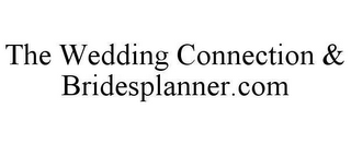 mark for THE WEDDING CONNECTION & BRIDESPLANNER.COM, trademark #78610400