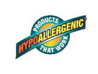 mark for HYPOALLERGENIC PRODUCTS THAT WORK, trademark #78611036