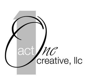 mark for 1 ACT ONE CREATIVE, LLC, trademark #78611712