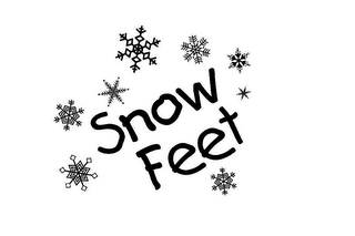 mark for SNOW FEET, trademark #78613459