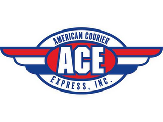 mark for ACE AMERICAN COURIER EXPRESS, INC., trademark #78614288