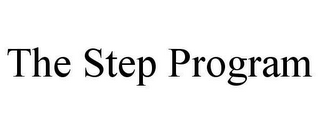 mark for THE STEP PROGRAM, trademark #78615887