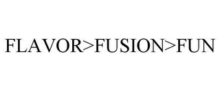 mark for FLAVOR>FUSION>FUN, trademark #78616274