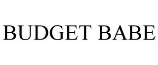 mark for BUDGET BABE, trademark #78617738