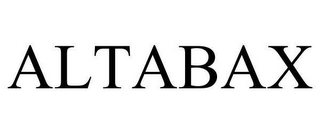 mark for ALTABAX, trademark #78618953