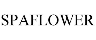 mark for SPAFLOWER, trademark #78619080