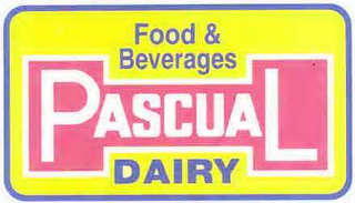 mark for FOOD & BEVERAGES PASCUAL DAIRY, trademark #78619174