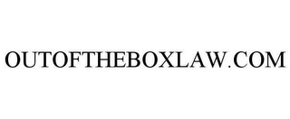mark for OUTOFTHEBOXLAW.COM, trademark #78620358