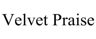 mark for VELVET PRAISE, trademark #78620394