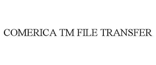 mark for COMERICA TM FILE TRANSFER, trademark #78620717