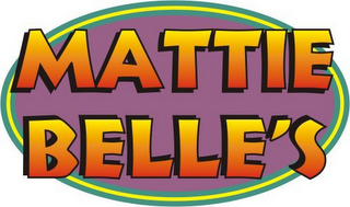 mark for MATTIE BELLE'S, trademark #78620728