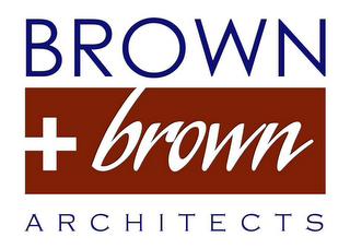 mark for BROWN + BROWN ARCHITECTS, trademark #78621370