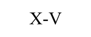 mark for X-V, trademark #78621530