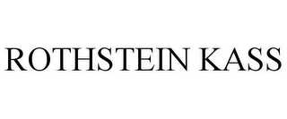 mark for ROTHSTEIN KASS, trademark #78622250