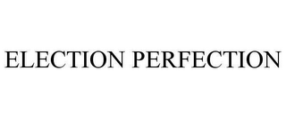 mark for ELECTION PERFECTION, trademark #78622555