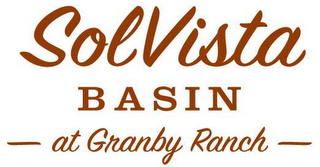 mark for SOLVISTA BASIN AT GRANBY RANCH, trademark #78623151