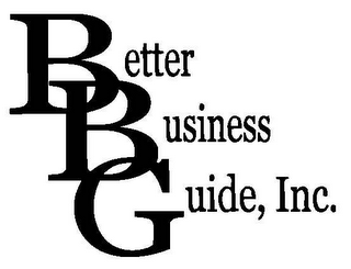 mark for BETTER BUSINESS GUIDE, INC., trademark #78623841