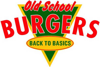 mark for OLD SCHOOL BURGERS BACK TO BASICS, trademark #78625405