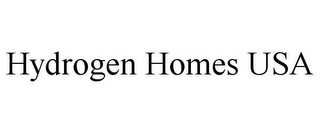 mark for HYDROGEN HOMES USA, trademark #78625999