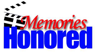 mark for MEMORIES HONORED, trademark #78626365