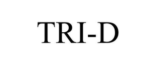 mark for TRI-D, trademark #78626460
