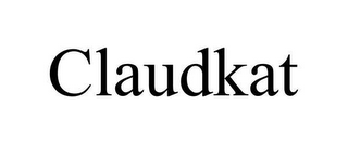 mark for CLAUDKAT, trademark #78628047