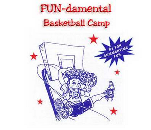 mark for FUN-DAMENTAL BASKETBALL CAMP #1 FOR SUMMERTIME FUN, trademark #78628378