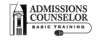 mark for ADMISSIONS COUNSELOR BASIC TRAINING, trademark #78628542