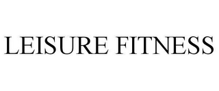 mark for LEISURE FITNESS, trademark #78628655