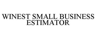 mark for WINEST SMALL BUSINESS ESTIMATOR, trademark #78628664