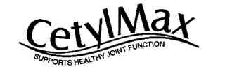 mark for CETYLMAX SUPPORTS HEALTHY JOINT FUNCTION, trademark #78629690