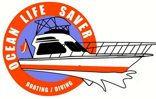 mark for OCEAN LIFE SAVER BOATING / DIVING, trademark #78629797