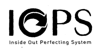 mark for IOPS INSIDE OUT PERFECTING SYSTEM, trademark #78629902