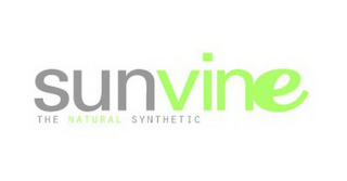 mark for SUNVINE THE NATURAL SYNTHETIC, trademark #78629979