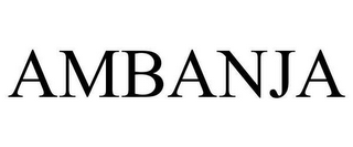 mark for AMBANJA, trademark #78630508