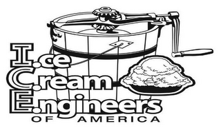 mark for I.CE C.REAM E.NGINEERS OF AMERICA, trademark #78632063
