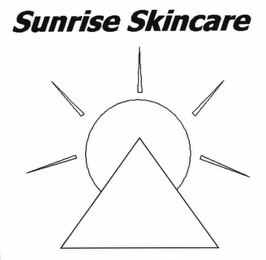 mark for SUNRISE SKINCARE, trademark #78632603