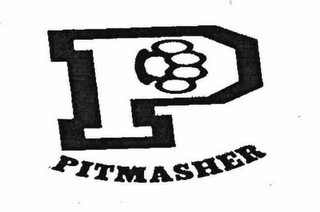 mark for P PITMASHER, trademark #78633292
