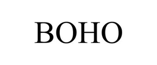 mark for BOHO, trademark #78634298