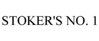 mark for STOKER'S NO. 1, trademark #78635702