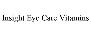 mark for INSIGHT EYE CARE VITAMINS, trademark #78636136